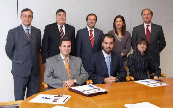 Participantes en la Mesa Redonda de Marketing Asegurador celebrada en INESE
