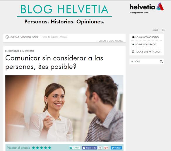 Blog Helvetia